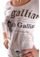 Футболка с длинным рукавом Galliano