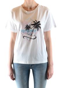 Camiseta Manga Corta Saint Laurent
