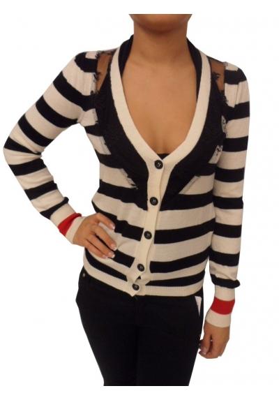 Frankie Morello maglia cardigan knitwear TM1630