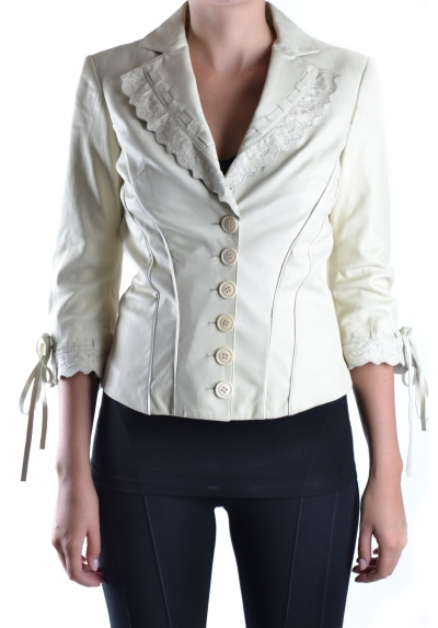 Antonio Berardi giacca pelle leather jacket AN318